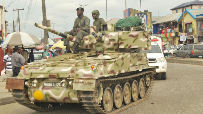 U S Slams Military option in resolving Nigeria conflict