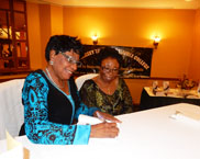 Rev. Dr Patience Oti Signing her book