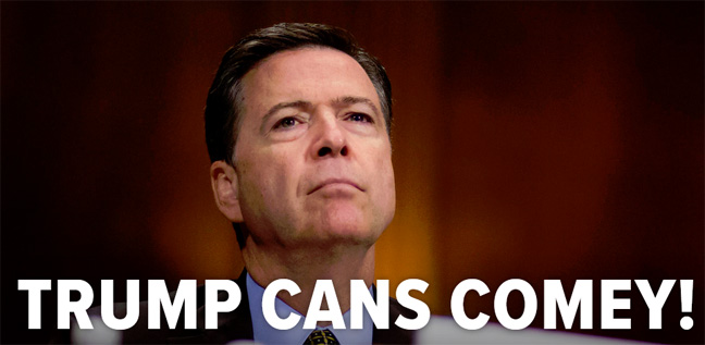 FBI Director James Comey Fired