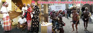 Ohafia Bende War Dance by Ohamadike International Ikpirikpe Ogu